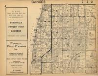 Ganges T2N-R16W, Allegan County 1954